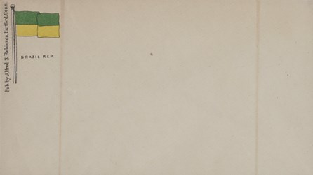 A.S. Robinson, Hartford Envelope: Brazil Rep.