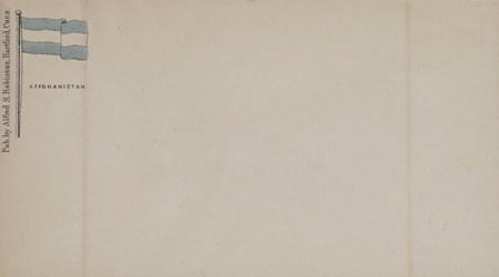 A.S. Robinson, Hartford Envelope: Affghanistan
