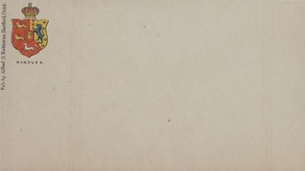 A.S. Robinson, Hartford Envelope: Hanover
