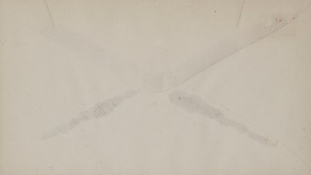 Reverse of A.S. Robinson, Hartford Envelope: Holland M. of W. and Merch.