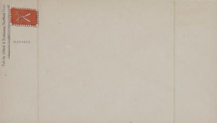 A.S. Robinson, Hartford Envelope: Morocco
