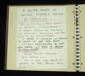 UNIQUE BRAILLE EDITION OF THE 1969 RED BOOK TO BE EXHIBITED IN ATLANTA