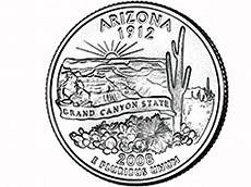 ARIZONA QUARTER LAUNCHED IN STATE CAPITOL CEREMONY