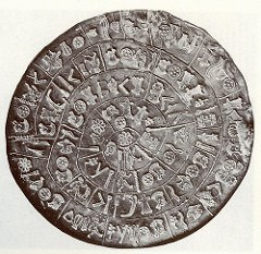 BEACH MYSTERY COIN IDENTIFIED AS REPLICA OF THE PHAISTOS DISK