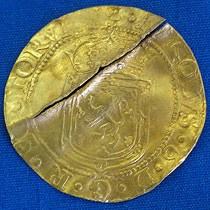 17TH CENTURY GOLD COIN RECOVERED IN NEWFOUNDLAND