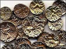 ANCIENT CELTIC COIN HOARD SOLD AT AUCTION