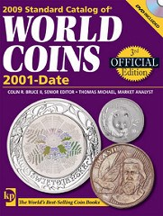 NEW BOOK: STANDARD CATALOG OF WORLD COINS 2001-DATE, 3RD EDITION