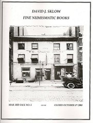 SKLOW NUMISMATIC LITERATURE SALE #5 CATALOG AVAILABLE