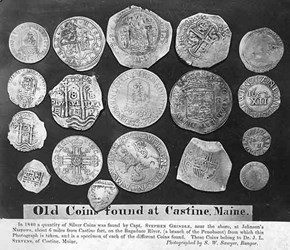 FEATURED WEB PAGE: CASTINE AND THE OLD COINS FOUND THERE
