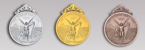 IT'S NOT THE OLYMPIC MEDALS, IT'S THE OLYMPIC METTLE