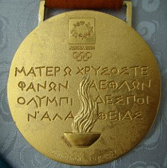 TRANSLATION FOR 2004 ATHENS OLYMPICS GOLD MEDAL