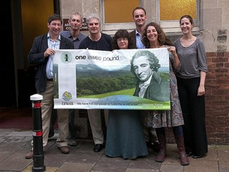 MORE LEWES POUND NOTES PRINTED TO MEET DEMAND