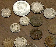 ARTICLE: WOMAN USES RARE COINS FOR PURCHASE