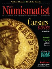 DECEMBER 2008 ISSUE OF THE NUMISMATIST PUBLISHED