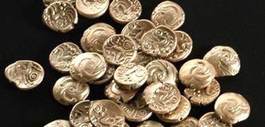 ANCIENT CELTIC COIN CACHE FOUND IN NETHERLANDS