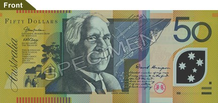 AUSTRALIAN DEMANDS COMPENSATION FOR ANCESTOR'S IMAGE ON BANKNOTE
