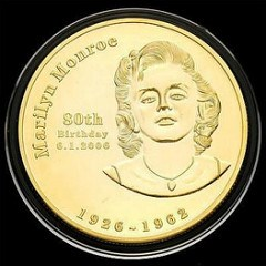 MORE ON MARILYN MONROE COINS