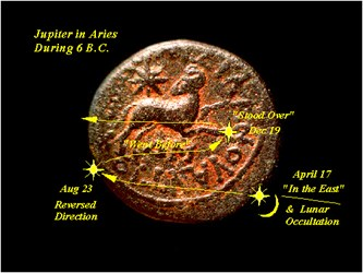 ARTICLE DESCRIBES NUMISMATIC EVIDENCE OF THE STAR OF BETHLEHEM