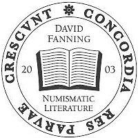 FANNING NUMISMATIC LITERATURE OPENS ON FACEBOOK