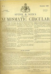 THE DECEMBER 2008 SPINK AUCTION INSIDER HIGHLIGHTS NUMISMATIC CIRCULAR