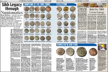 FEATURED WEB PAGE: SIKH LEGACY THROUGH NUMISMATICS