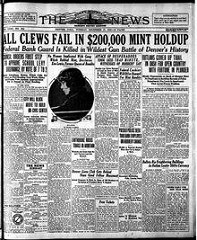 THE GREAT DENVER MINT ROBBERY OF 1922