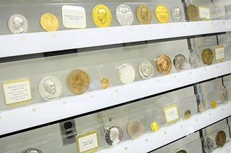 DARRELL CRAIN INAUGURAL MEDAL COLLECTION DISPLAYED