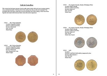 NEW BOOK: COFFEE TOKENS OF COSTA RICA