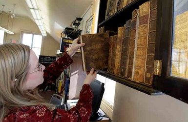 AMERICA'S OLDEST FREE LIBRARY MAY CLOSE