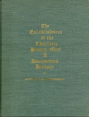 QUERY: INFORMATION ON CHARLOTTE MINT BOOK AUTHOR STAUTZENBERGER SOUGHT