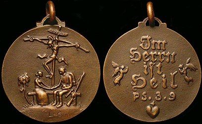 FEATURED WEB SITE: LUDWIG GIES: CAST ART MEDALS FROM THE GREAT WAR