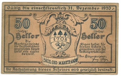 MORE ON AUSTRIAN NOTGELD