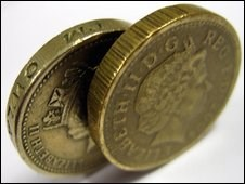FIRM ESTIMATES TWICE AS MANY CIRCULATING COUNTERFEIT ONE POUND COINS