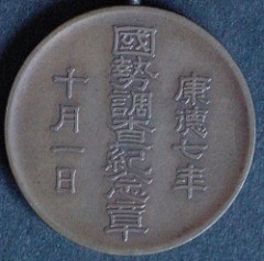 JAPANESE AND CHINESE MEDALS WITH SEAL SCRIPT