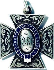ARTICLE AND WEB SITE HIGHLIGHT 1888 RUGBY MEDAL