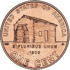 NEW LINCOLN CENT DESIGNS SLOW TO ENTER CIRCULATION