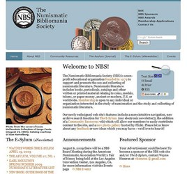 COINBOOKS.ORG REVAMPED: NEW NUMISMATIC BIBLIOMANIA SOCIETY WEB SITE UNVEILED