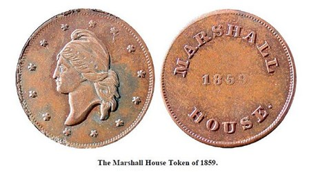 QUERY: THE MARSHALL HOUSE TOKEN AND THE CIVIL WAR