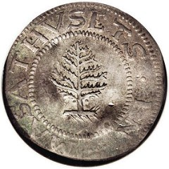 WHY WERE THE PINE, OAK, AND WILLOW TREES DEPICTED ON U.S. COLONIAL COINS?
