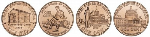 CROWDS GATHERED IN INDIANA FOR RELEASE OF NEW LINCOLN CENT
