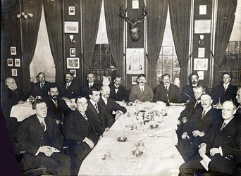 FIRST NEW YORK NUMISMATIC CLUB MEETING PHOTO