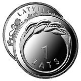 NEW LATVIAN COIN FEATURES NAMEJS RING