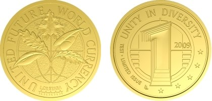 UNITED FUTURE WORLD CURRENCY COINS
