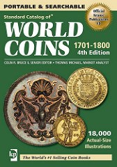 NEW E-BOOK: STANDARD CATALOG OF WORLD COINS 1701-1800
