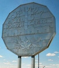 THE BIG NICKEL MEDAL