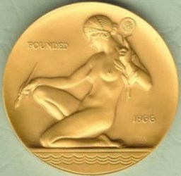 THE AMERICAN WATERCOLOR SOCIETY AWARD MEDAL