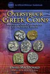REVIEWERS SOUGHT FOR MACDONALD'S OVERSTRUCK GREEK COINS