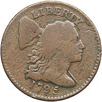 U.S. LARGE CENT FETCHES RECORD PRICE OVER $1 MILLION