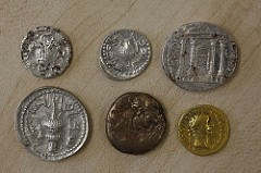 CACHE OF COINS FROM THE BAR-KOKHBA JEWISH REVOLT FOUND