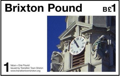 BRIXTON POUND LAUNCHED